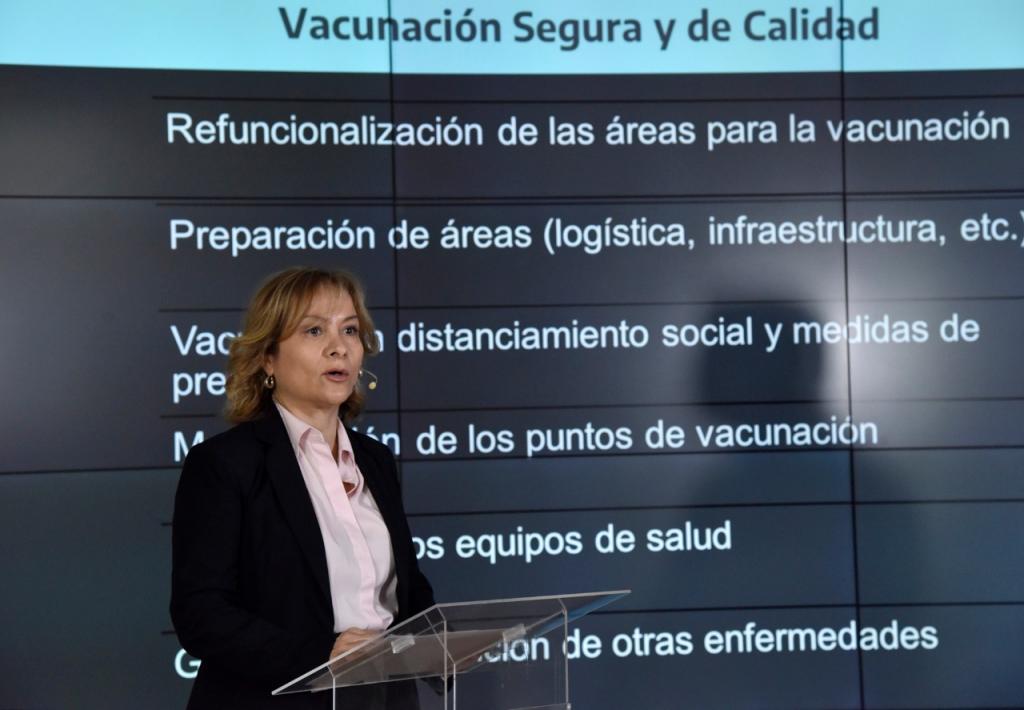 Medidas para garantizar seguridad y calidad durante el proceso de inmunización contra COVID-19