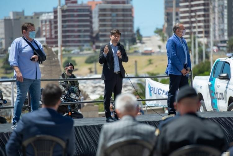 """Kicillof, Berni y Montenegro encabezaron el lanzamiento del """"Operativo Sol"""""""