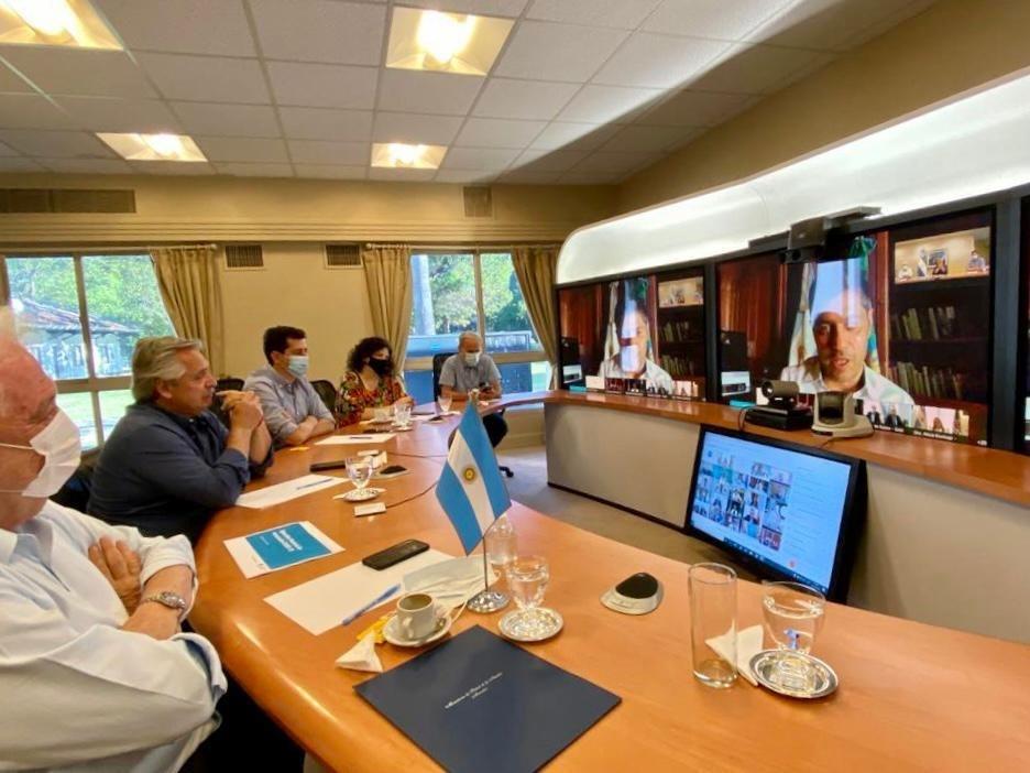 Reunión del Presidente con gobernadores
