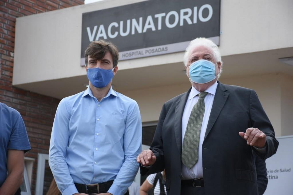 Lucas Ghi participó del lanzamiento del Plan Estratégico de Vacunación contra el COVID-19