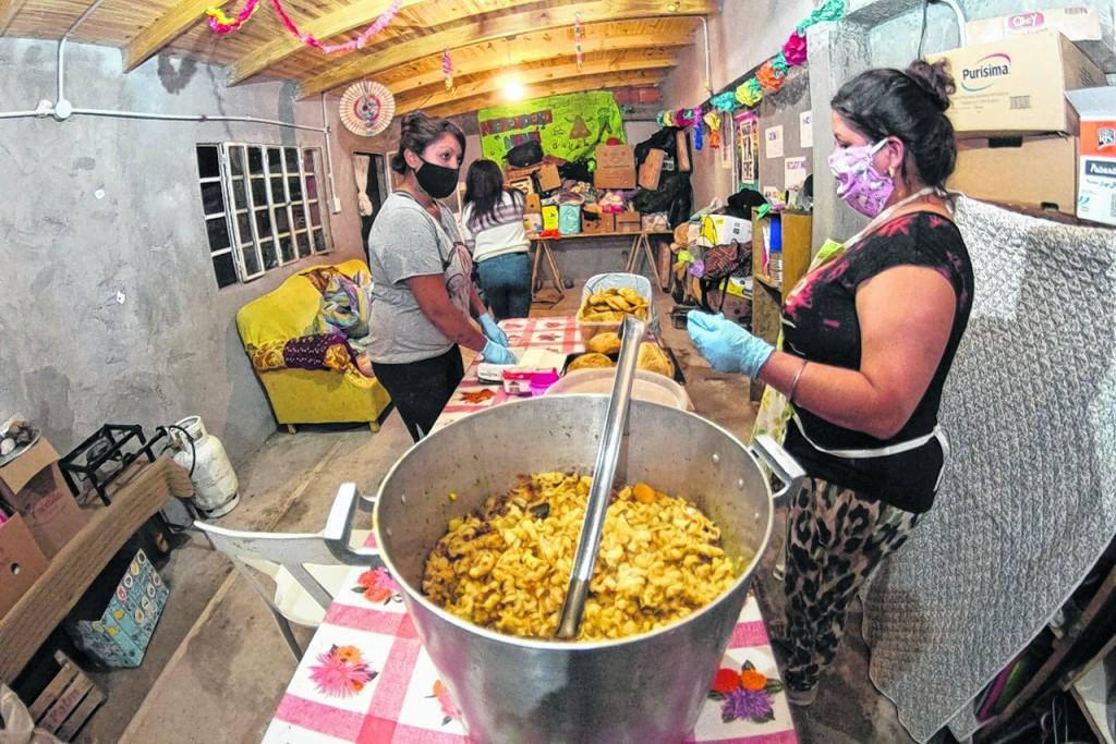 Refuerzo adicional para quienes sostuvieron comedores y merenderos en pandemia