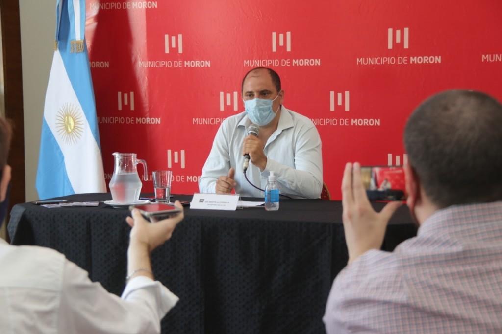 Comenzó la campaña de vacunación contra el COVID-19 en Morón