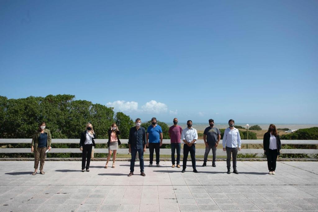 Matías Lammens inició la segunda etapa del plan de obras para la Unidad Turística Chapadmalal
