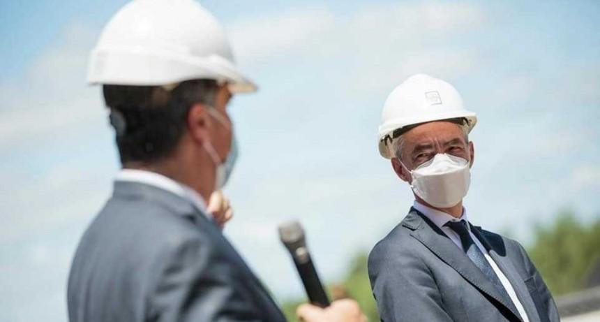 Mario Meoni anunció inversiones en Chaco